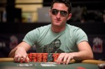 Michael Linn at the final table of event #49.