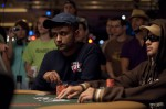 Praz Bansi one of the last four players in the $1,500 No-Limit Hold'em event.