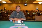 Ryan Gentry, winner of event #4 at Harrah's Philadelphia