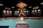 Yen Dang, winner of the 2012 WSOP NLH Ladies Championship