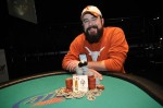 Andrew Smith, winner of Event #7 at Harrah's Tunica