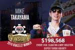 Mike Takayama winner