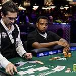 Tesfaldet Tekle doubles up with a flush