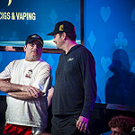 Mike Matusow & Phil Hellmuth