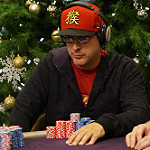Phil Laak Day 2 Bike Main Event