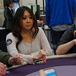 Maria Ho on Day 1A of the Bike Main Event