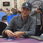 Chang Lin on Day 2 of Bike main event