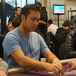 Jesse Yaginuma on Day 1B of Bike main event