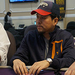 Sean Yu on Day 1B of Bike main event
