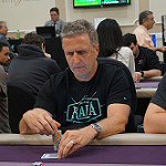 Stan Jablonski on Day 1A of the Bike Main Event