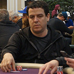 Carlos Mortensen on Day 1B of bike main event