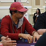 Nipun Java on Day 1A of Bike Main Event