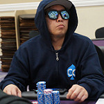 Frank Lin on Day 2 of Bike Main Event