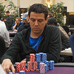 Carlos Mortensen on Day 2 of Bike Main event
