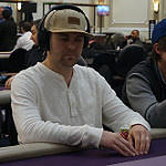 Marco Johnson on Day 1B of Bike main event