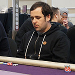 Jordan Cristos on Day 1B of Bike main event