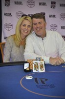 Event #10 Champion, Patrick Smith and his wife.