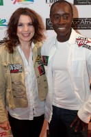 Annie Duke and Don Cheadle