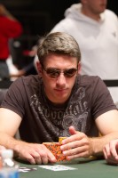 David Aue is playing well in the $1,500 No-Limit Hold'em event