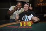 Event #12 Runner-Up, Rashi Brown (L), with the Champion, Ryan Carter (R).