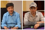 WSOP Bracelet winners Robert Cheung and Arkadiy Tsinis