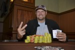 Event 9 winner, Kevin Davis.