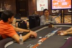 Heads-up between Vincent Moscati and Kindah Sakkal