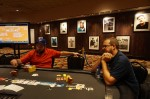 Heads-up between Todd Duplantis and Sean Marshall