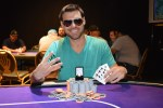David Nicholson wins ring #4 in Pot Limit Omaha at Harrah's New Orleans