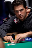 Brandon Adams at the event 10 final table of the 2010 WSOP.