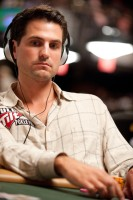 Final Table Participant Brandon Adams on Day 2 of Event 10