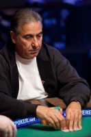 Ahmad Abghari took second in Event 12, Limit Hold 'em and won $117,272!