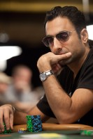 Aadam Daya tries his luck in Event 13 after winning his first bracelet in Event 3 this year.