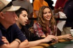 Shannon Elizabeth joins the field for day 2 of Event 13