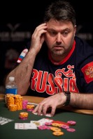 Sergey Altbregin from Russia is 2nd in chips heading into Day 3.