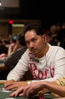 Seven Card Stud Hi-Lo Split-8 or Better Championship competitor Steve Wong