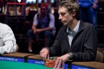 Thibaut Klinghammer at the final table of Event 20