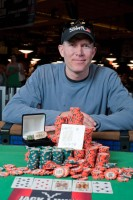 Jeffrey Tebben seals the deal with trip Kings and becomes the 2010 WSOP Event 24 $1000 No-Limit Hold'em bracelet winner