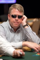 John Tolbert stashes his reading glasses, preferring his sunglasses in this stacked event