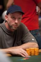Jonathan Bascom shows off his poker stare