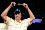 Harold Angle wins his first WSOP gold bracelet.