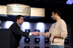 Jack Effel congratulates Aadam Daya on his Event 3 No-Limit Hold'em win in the 2010 World Series of Poker.
