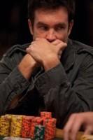 3rd in chips; Gabe Costner can speak no evil.