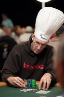 Randy Kaas: getting ready to 'cook' his competition