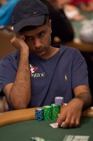 Praz Bansi carried some of the momentum from his bracelet victory into the Main Event.