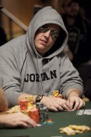 David Tuthill is currently the chip leader at the Event 5 final table