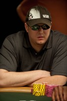 Christopher Reider finishes 3rd in the Casino Employee No-Limit Hold'em Tournament.