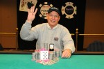 Harrah's Resort Atlantic City WSOP CIrcuit Event #3 Mark Smith Winner Photo