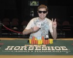 Event 3 Winner of the 2009-2010 WSOP Circuit Events at Horseshoe Hammond, Justin Filtz