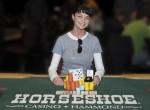 Event 4 Ladies NLH championship winner, Nadya Magnus, 2009-2010 WSOP Circuit at Horseshoe Hammond